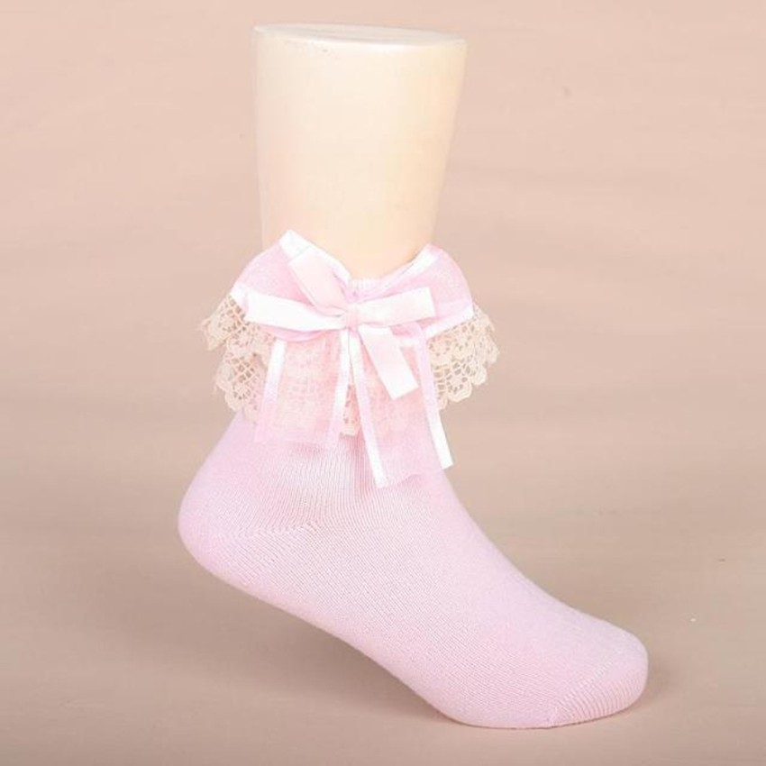 baby girl cute lace bow solid socks fashion meias calcetines kids korean autumn socks girls baby kids children socksbaby girl cute lace bow solid socks fashion meias calcetines kids korean autumn socks girls baby kids children socks