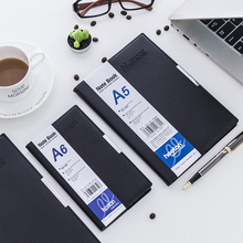 Business Notebook Leather Notepad A5 A6 B5 Meeting Schedule Diary Notebook 1PCS