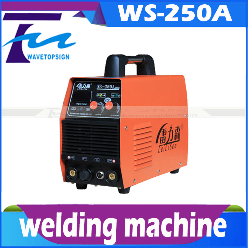 welding machine WS-250A/ digital display stainless steel TIG welding machine / welding machine mosfet tig 200a steel welding machine tig machine