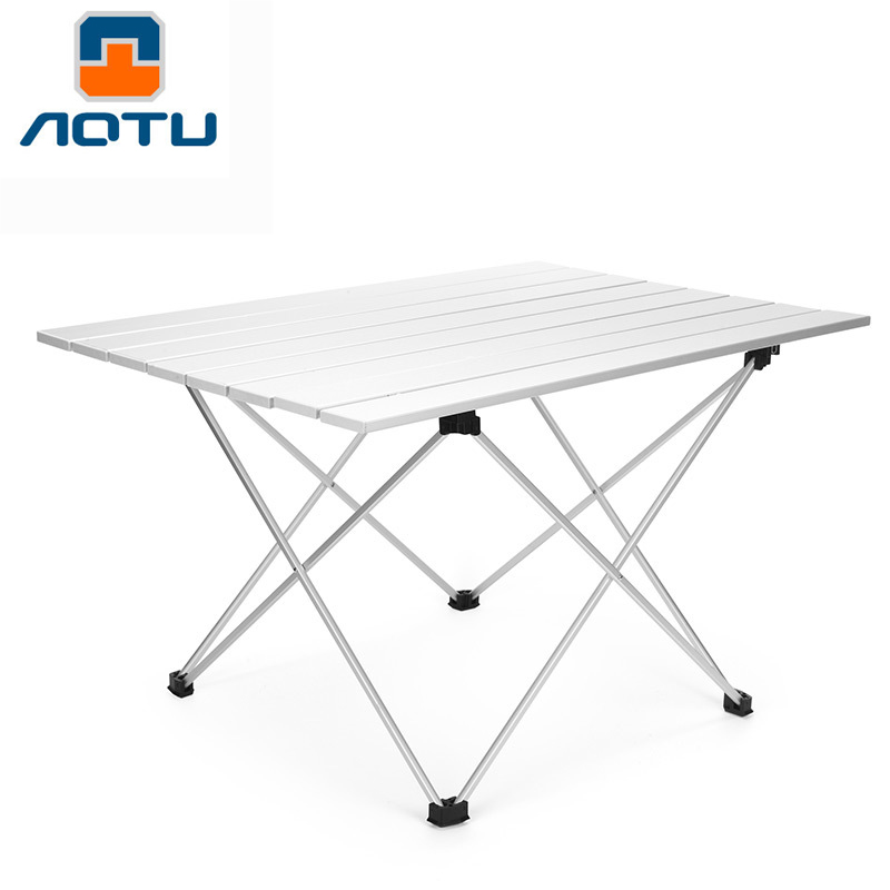 Outdoor Compact Table Portable Camping Aluminum Folding Tables With Carrying Bag for Cookout  Picnicking Fishing Backpacking|Outdoor Tablewares| |  -