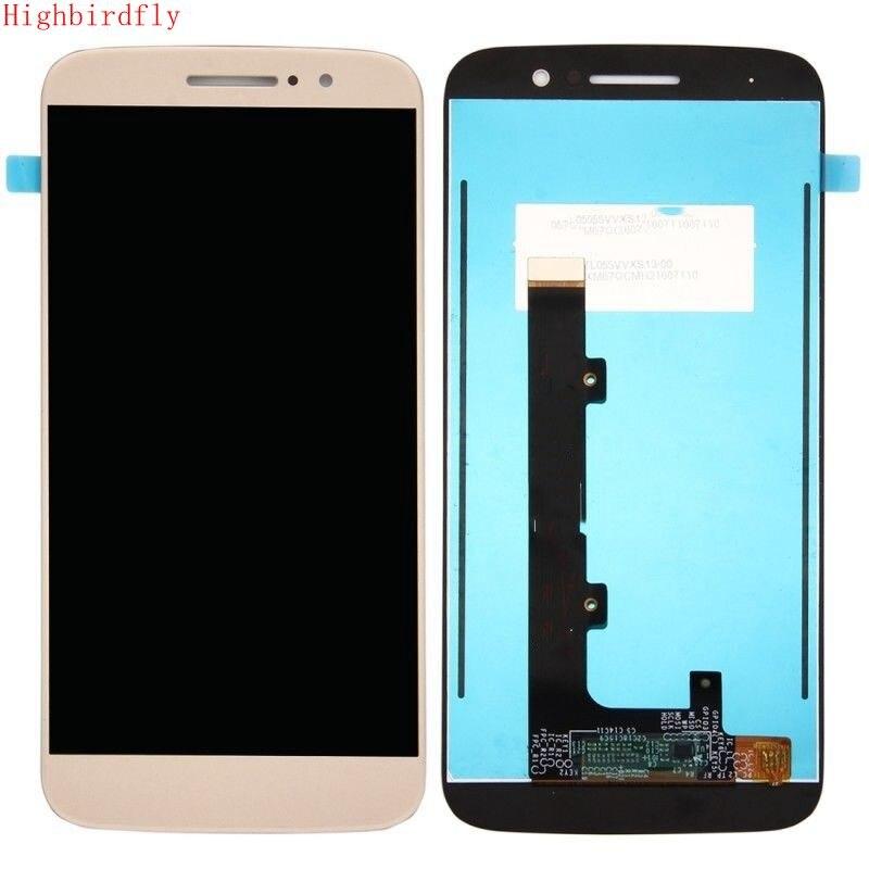 Highbirdfly For Motorola Moto M XT1662 XT1663 Lcd Screen Display+Touch Glass Digitizer Assembly Replace broken lcd