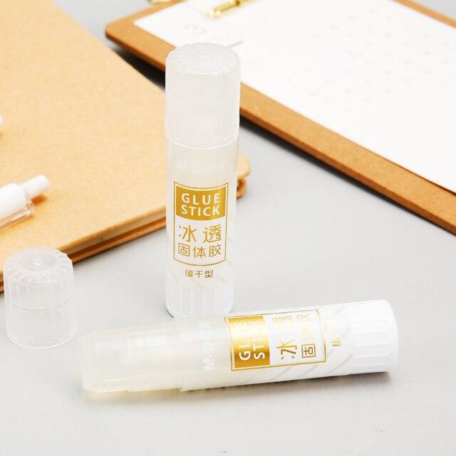 Andstal Ice Transparent fort adhésif papier colle bâton stylo M & G mignon plastique école colle bâtons pour enfants école fournitures de bureau