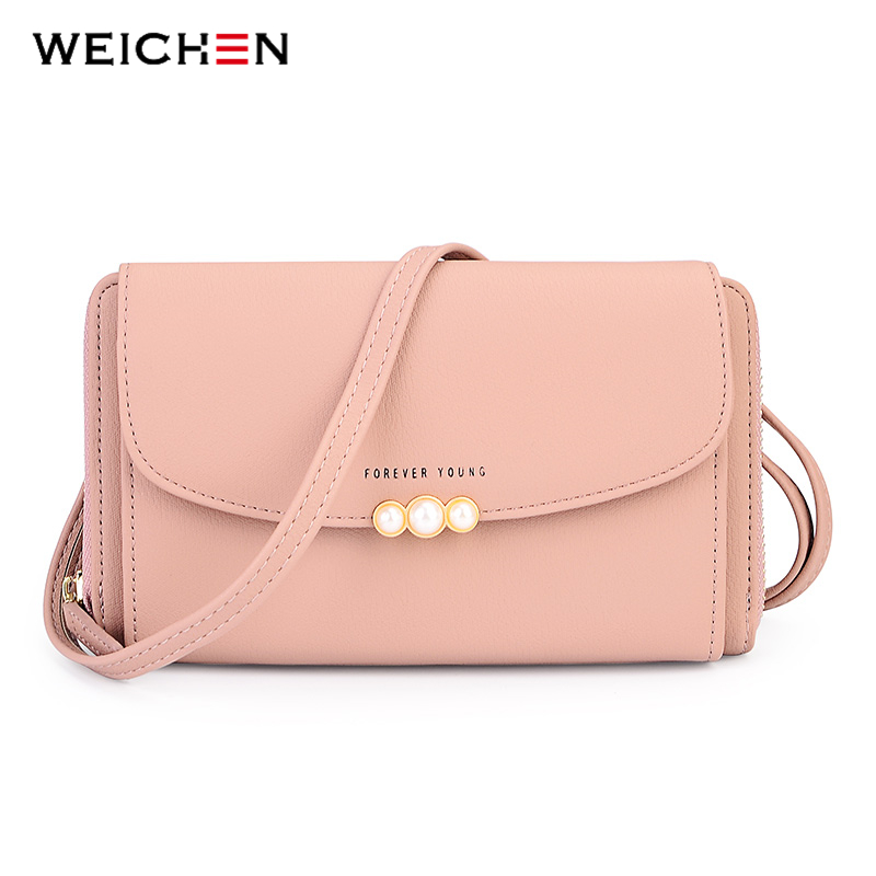 WEICHEN New Designer Women Shoulder Bag Purse Leather Women Messenger Bags Female Clutch Crossbody Bag For Ladies Bolsa Feminina 2017 new clutch steam punk female satchel handbag gothic women messenger bags shoulder bag bolsa shoulder bags tote bag clutches
