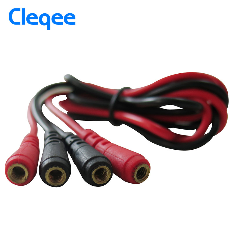 Cleqee P1500 Test Leads kit Replaceable Test wires Probes for digital Multimeter Test Leads crocodile clips Cleqee P1500 Test Leads kit Replaceable Test wires Probes for digital Multimeter Test Leads crocodile clips U type probe