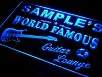 Pf-tm именная Персонализированная гитарная полоса для комнаты, пивная неоновая световая вывеска с переключателем вкл/выкл 7 видов цветов, 4 ра...