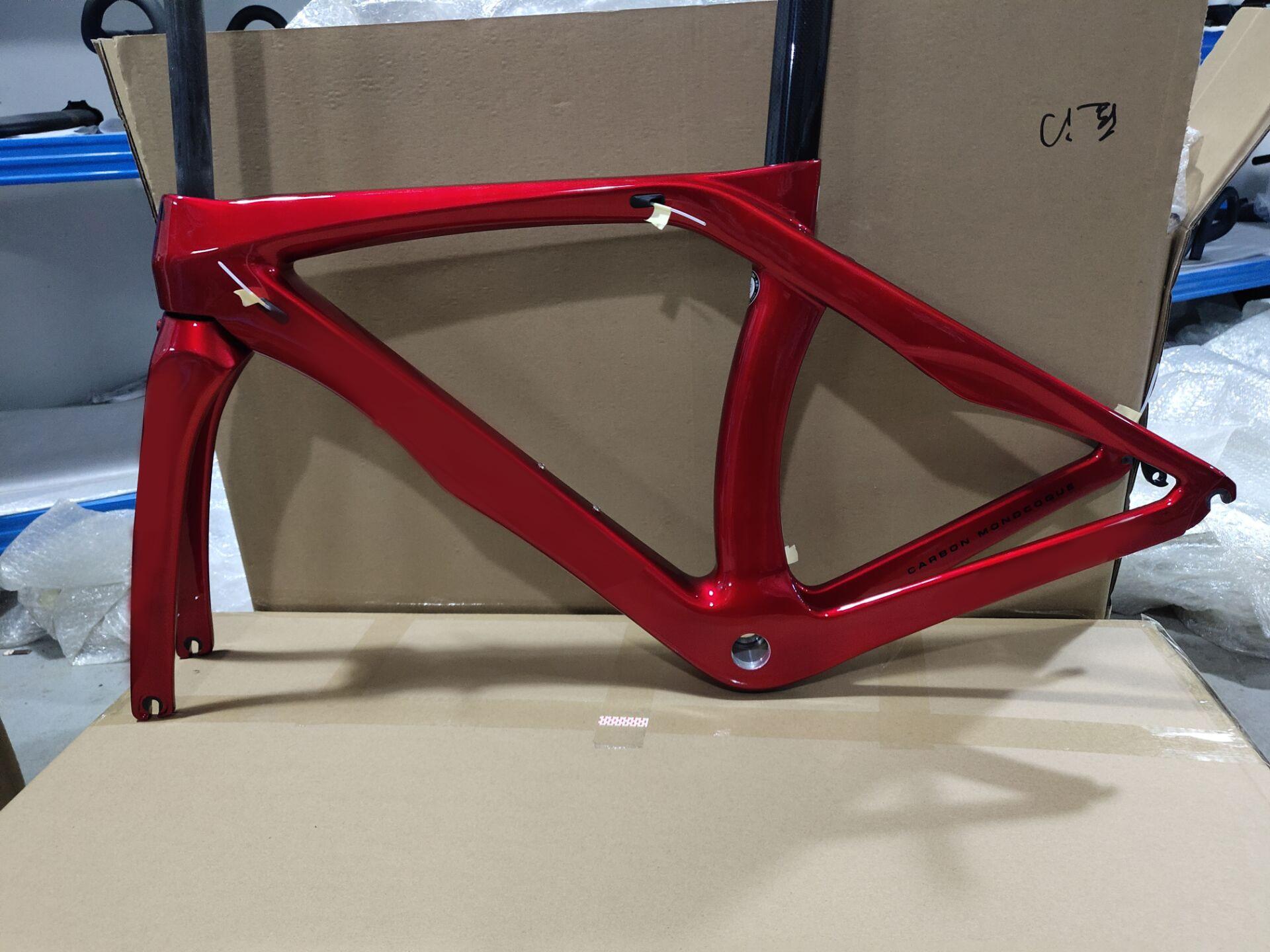 carbon road frame LNRB1K Di2 Mechanical carbon frame 3K1K racing bicycle road bike frameset accept customized