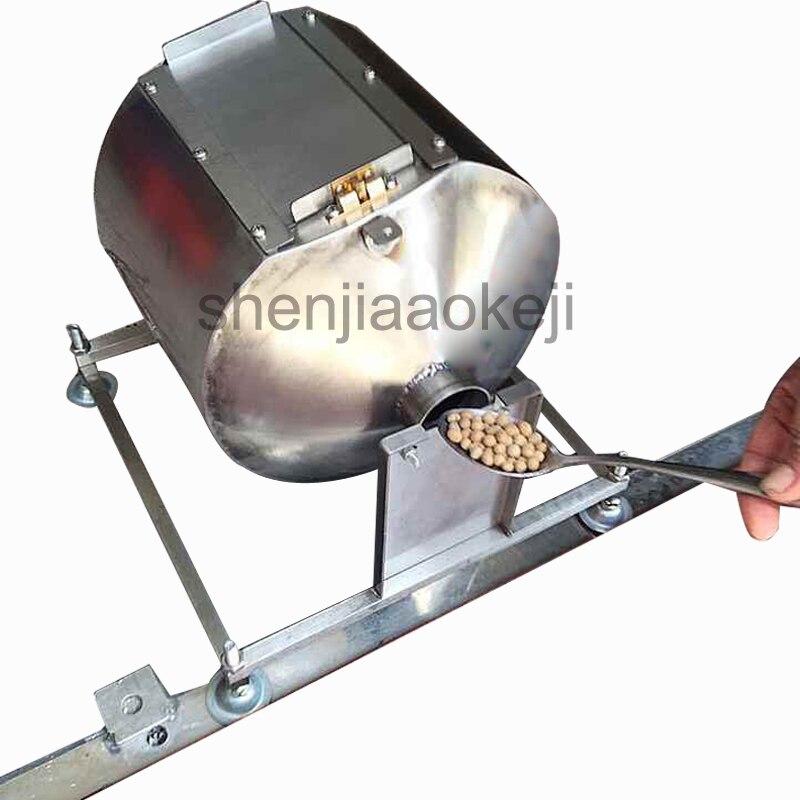 Huishoudelijke speculatie machine Automatische koffiebrander machine gebakken bonen, roergebakken chili saus, gebakken gierst frituren machine - 4