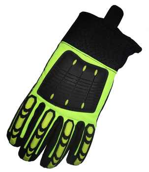 Rigger Clutch Gear Glove Anti Vibration Safety Glove Cut Resistant Shock Absorbing Glove Anti Impact Proof Mechanics Work Glove