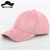 Hot Selling Solid Color Suede Hat 6 Panel Baseball Cap For Women Or Men