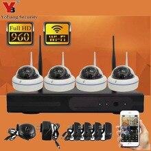 YobangSecurity домашняя охранная камера система 4CH wifi NVR комплект 960 P HD наружная видео ip-камера wifi наблюдение CCTV камера системы