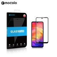 Mocolo Full GLUE Glass Film for Xiaomi Redmi Note 7 8 Screen Protector Full Cover for Note 8 PRO Tempered Glass Film for Redmi 7