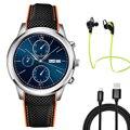 Nova lemfo mtk6580 lem5 android 5.1 os smart watch phone 1 gb RAM + 8 GB ROM suporte WIFI GPS freqüência cardíaca APP download smartwatch