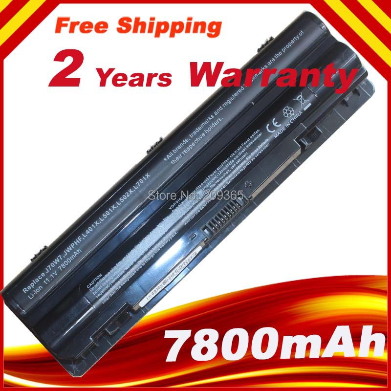 NEW GENUINE for DELL BATTERY R795X FOR XPS 14 15 17 L401X L702X L502X 9 Cell 11 1v 90wh original battery for dell xps15 xps14 xps17 l702x l502x j70w7 r795x genuine xps14 xps15 high capacity battery 9 cell