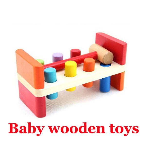 Classic Educational Toys : Baby toys kids whaca mole wooden educational classic