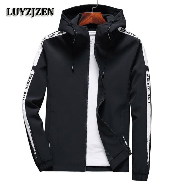 2018 New Brand Mens Jackets Spring And Autumn Jacket Fashion Slim
