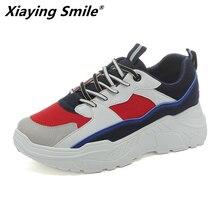 Xiaying Smile 2019 nuevo estilo zapatos para correr para mujer Zapatillas deportivas para el aire libre mujeres diseñador invierno botas de nieve talla 35 -40