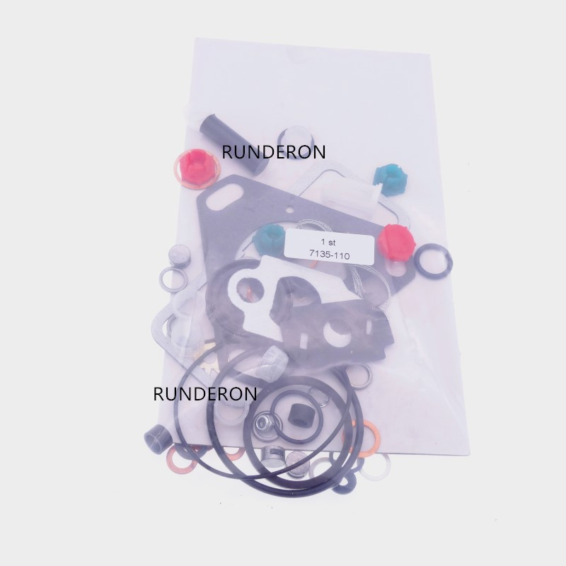 RUNDERON 7135 110 800410 Diesel Engine Fuel Injection Pump Gasket Set Copper Shim Sealing O ring