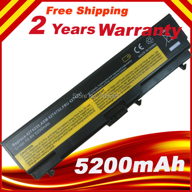 NEW Notebook Lithium Battery for IBM/LENOVO ThinkPad Edge 15'' E420 E520 42T4708 42T4751 42T4791 gzeele new us laptop keyboard for lenovo for ibm thinkpad edge e530 e530c e535 e545 04y0301 0c01700 v132020as3 without backlight