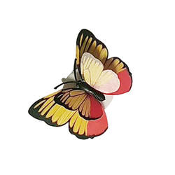 1 шт. 6 10 светодиодный свет ночи Красочные Изменение лампа-бабочка дома Вакуумная присоска вечерние партия стол атмосфера Настенный декор