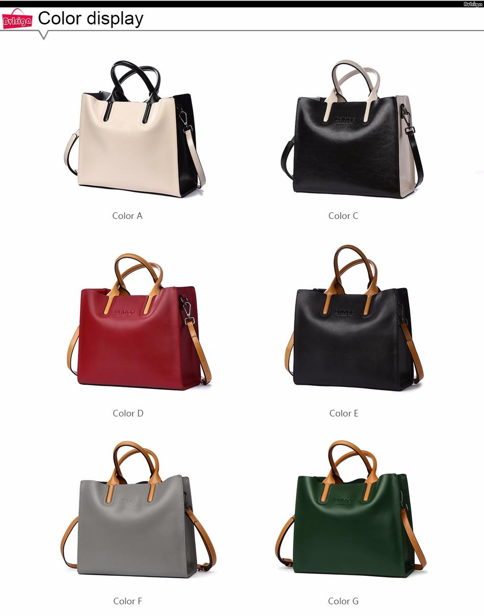 d9fcc45281d8 BVLRIGA Genuine leather bag famous brands women messenger bags women  handbags designer high quality women bag