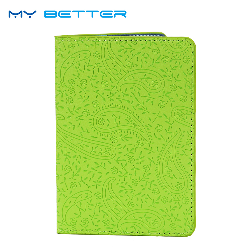 High Quality Women Passport Cover Lavender Waterproof PU Leather Travel  ID Card Bag Passport Holder fashion new passport holder documents bag pu leather card holder travel passport id cover card case