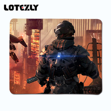 New Rubber Killzone Gaming Mouse Pad Lock Edge Sturdy Mouse Pad PC Laptop Laptop computer Gaming Mice Mat  Play Mousepad 250x210mm