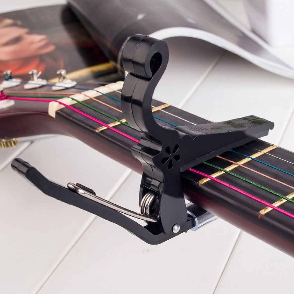 ABS الغيتار موالف المشبك المهنية مفتاح كابو الزناد ل الصوتية الكهربائية آلات موسيقية الساخن بيع دروبشيبينغ