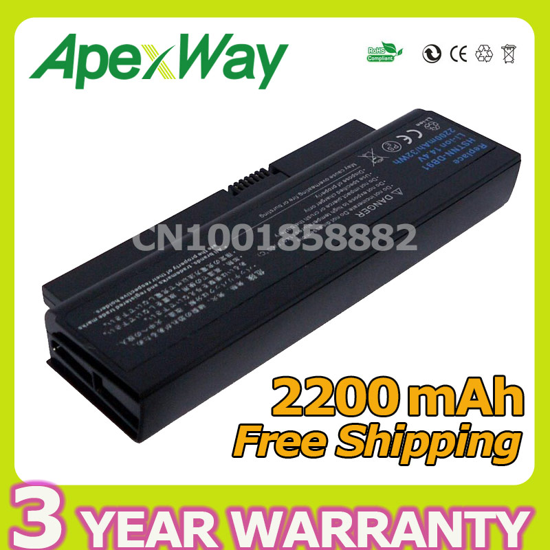 Apexway 2200mAh Laptop Battery For HP 4310s 4210s 4311s 30975-341 579320-001 AT902AA HSTNN-DB91 HSTNN-OB91 HSTNN-OB92 HSTNN-XB91
