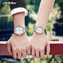 Sinobi Couple Watch Mens Watches Top Brand Luxury Quartz