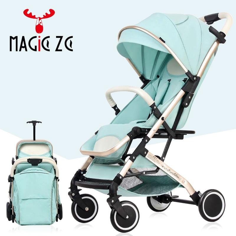 Poussette bébé poussette kinderwagen bébé poussette landau lumière pliable bébé voiture peut s'asseoir peut mentir Europe entrepôt ue RU pas de taxe - 2