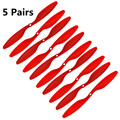5 pairs red color fpv CW/CCW Propeller for multicopter quadcopter FPV 1045 Props 10x4.5 total 10pcs