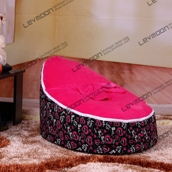 FREE SHIPPING baby seat with 2pcs rose up cover baby bean bag baby beanbags chair bean bag seat bean bag furniture