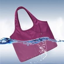 Waterproof Nylon Bag Ultra-light Portable Women Swimming bag Wet and Dry Separation Sports Handbags Beach Sack Shoulder Bags