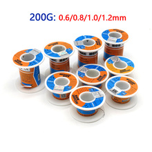 цена на MECHANIC HX-T100 Solder Wire 200g 0.6/0.8/1.0/1.2mm  High Purity Low Fusion Spot Welding BGA Welding Repair Tools