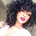Afro Kinky Curly Wig Synthetic Women's Wig Cosplay Kinky Curly Synthetic Wig  Perruque Synthetic Women Wigs For Black Women