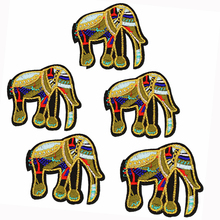DIY Elephant Patches for Clothing Iron Embroidered Applique Iron on Patch Sewing Accessories Badge Stickers for Clothes Bag BT40 коронка биметаллическая stayer professional 29547 032 d32мм