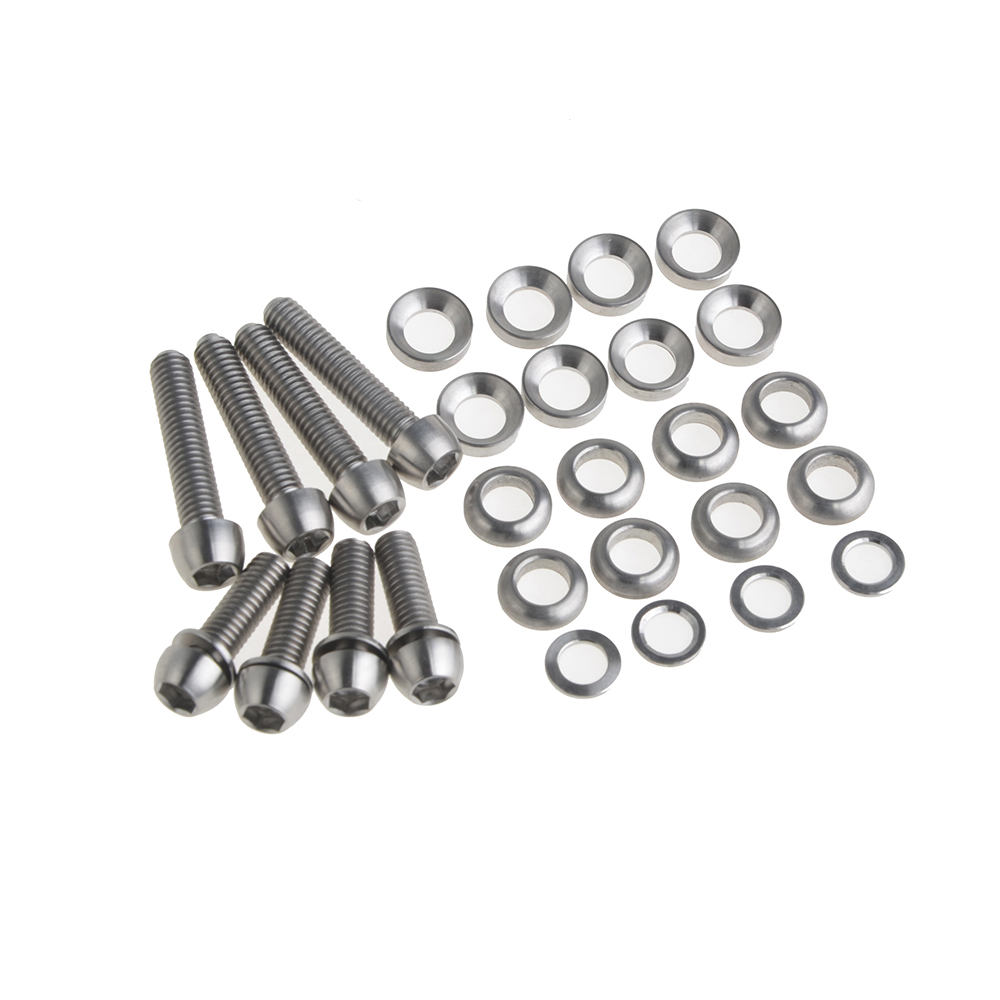 Wanyifa Bike Bicycle Titanium Ti Bolts Kit for Elixir/Code/Juicy Disc Brake Screws,M6 x 20mm/M6 x 29mm Washers for Caliper Mount sudeep d thepade and h b kekre content based image retrieval
