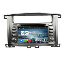 RAM 2GB ROM 32G Octa Core Android 6.0 Fit Toyota Land Cruiser 100 1998-2007 Car DVD Player Navigation GPS Radio