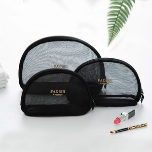 Image 5 - Concise Toilets Crystal Box Black Pink Grid Makeup Cosmetic Organizer Mini  Size Trumpeter Portable Travel Accept Bag Package