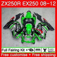 Body For KAWASAKI NINJA ZX 250R ZX 250R EX250 1SH18 EX 250 08 09 10 11