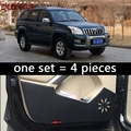 Для Toyota Land Cruiser Prado J120 2002 2003 2004 2005 2006 2007 2008 2009Car Door Anti-kick Protection автостайлинг аксессуары