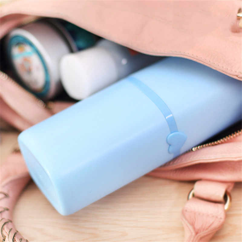 Najlepsze oferty 3 kolory plastikowe łazienka mycia płukanie do przechowywania kubek do mycia podróży Camping 60 ml szampon zestaw butelek łazienka sprzętu