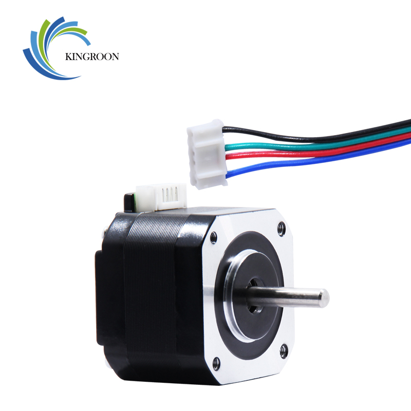 KINGROON 3D Printer Nema 17 Stepper Motor 34mm 42 Motor With 800mm Double-head Cable Line For CNC 3D Printer Parts Motor 2KINGROON 3D Printer Nema 17 Stepper Motor 34mm 42 Motor With 800mm Double-head Cable Line For CNC 3D Printer Parts Motor 2