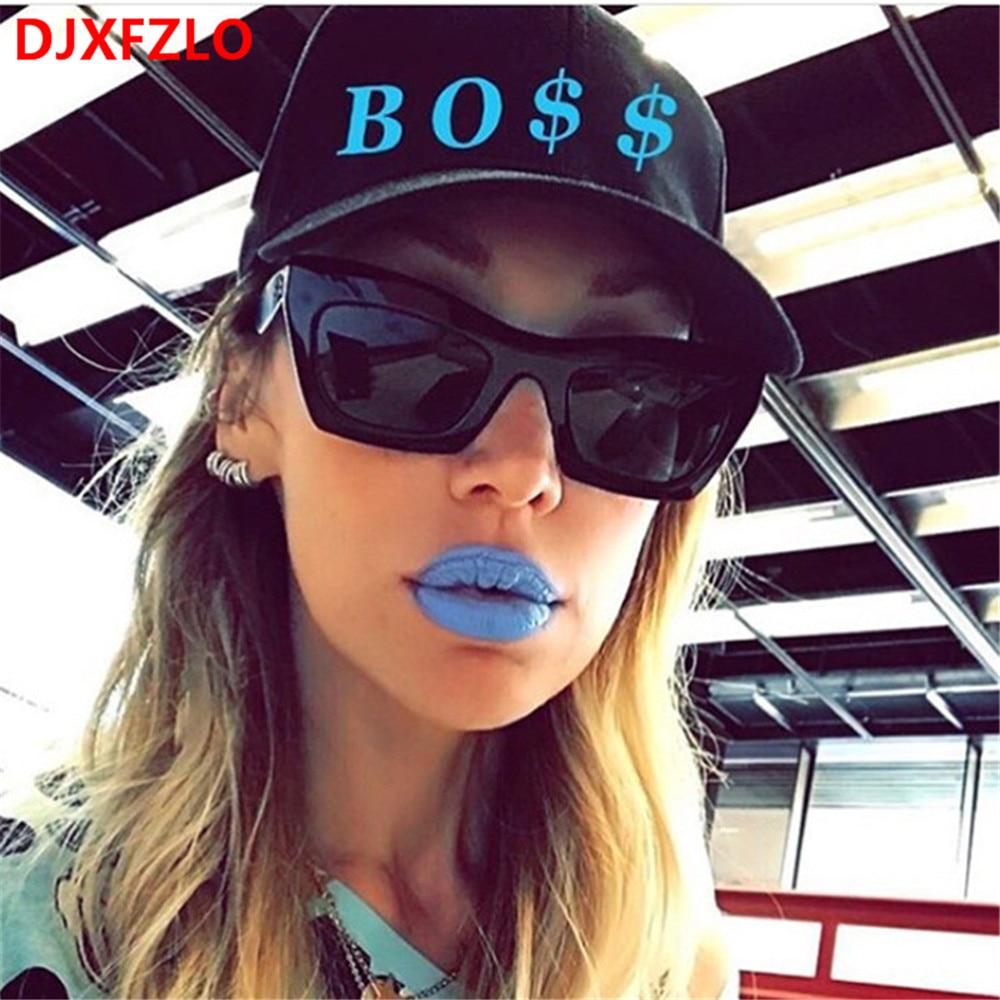 100% QualitäT Djxfzlo 2018 Neue Mode Persönlichkeit Wilden Sonnenbrille Frauen Marke Designer Klassische Sonnenbrille Vintage Oculos De Sol Uv400