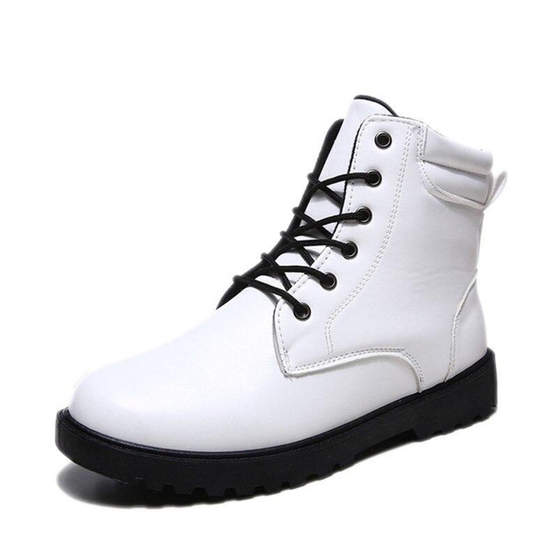 Neige marron Printemps whitefur De brownfur Et Automne Homme Bottines Bottes Hiver Hommes Noir Chaussures blanc Travail blackfur HpqwTOwz