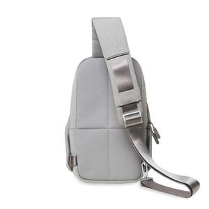 Image 2 - Original Xiaomi Backpack urban leisure chest pack For Men Women Shoulder Type Unisex Rucksack for camera DVD phones Travel bag