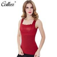 COLLEER מעצב חולצות נשים בתוספת קטיפה של נשים Shapewear תחתונים תרמיים חמים מותן מאמן מחוך מותניים מעצבי גוף נשים למעלה