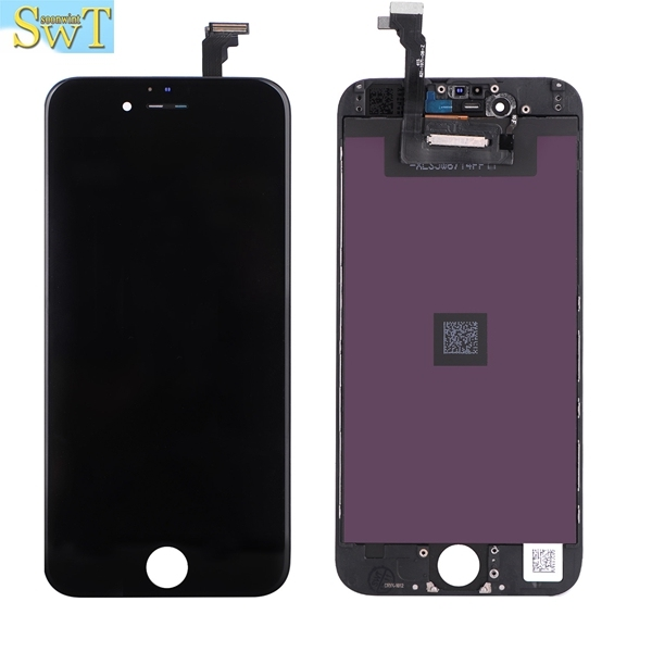 2pcs/lot LT AAAA quality full lcd For iPhone 6 LCD Touch Screen digitizer for apple iphone 6 replacement screen 4.7 ecran