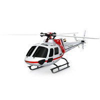 2 4GHz 6CH RC Quadcopter Sport Toy Brushless 3 Blade RC Helicopter RTF Version With 3D