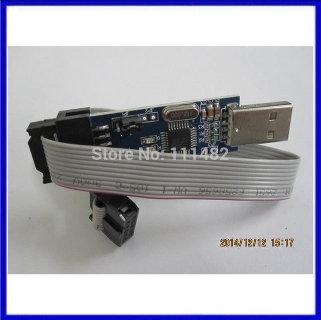 1LOT New USBASP USBISP AVR Programmer USB ISP USB ASP ATMEGA8 ATMEGA128 Support Win7 64K